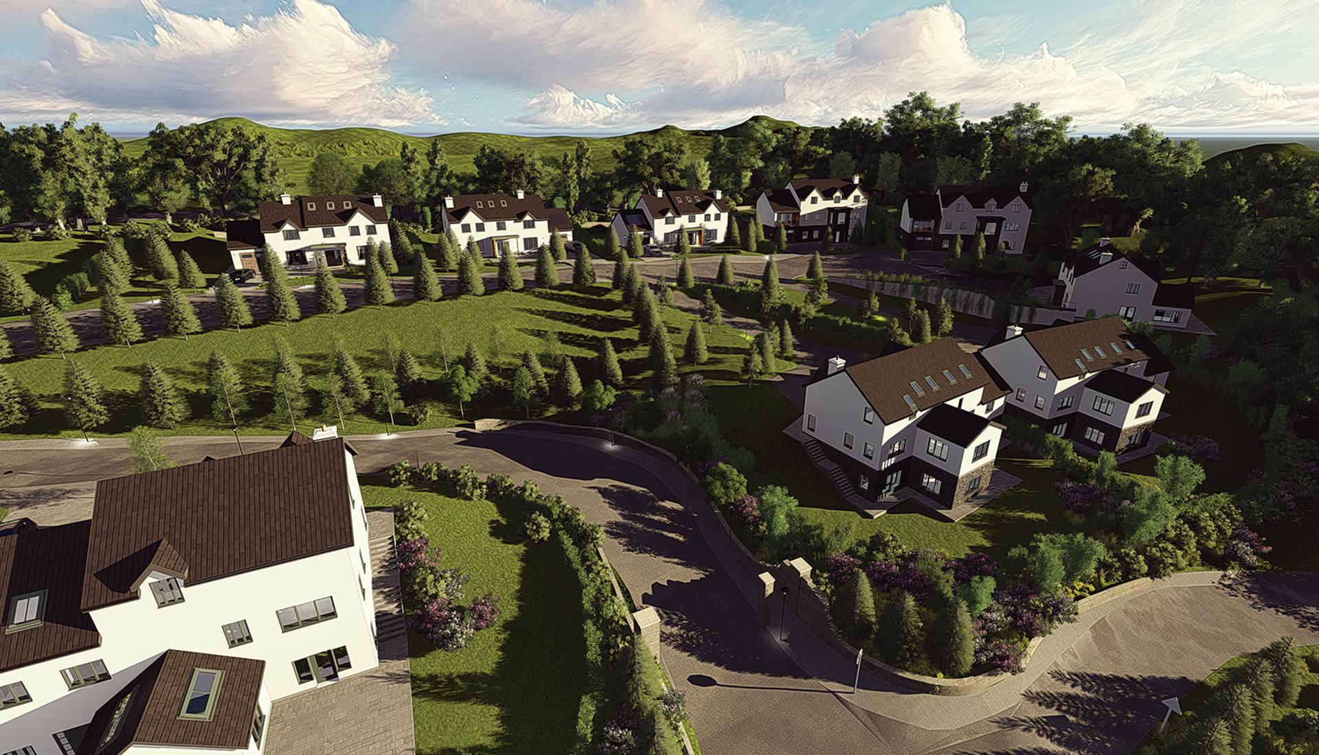 Exclusive Development 9 Luxury Homes